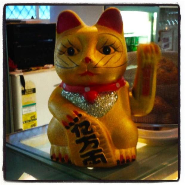 Luck cat